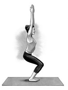 Chair Pose (Utkatasana)
