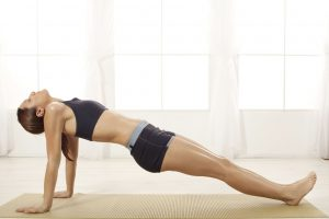 Upward plank or Purvottanasana