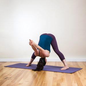Wide-Legged Forward Bend Pose (Prasarita Padottanasana))