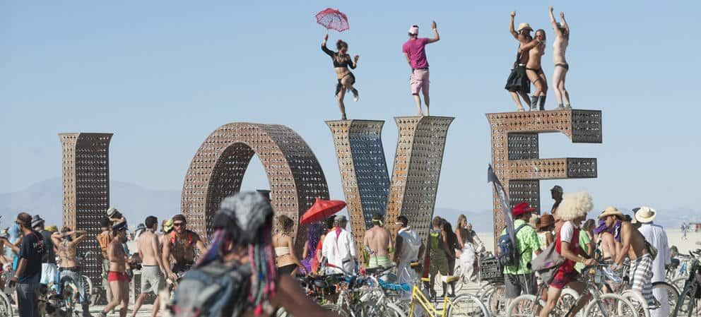 burning man event 2018
