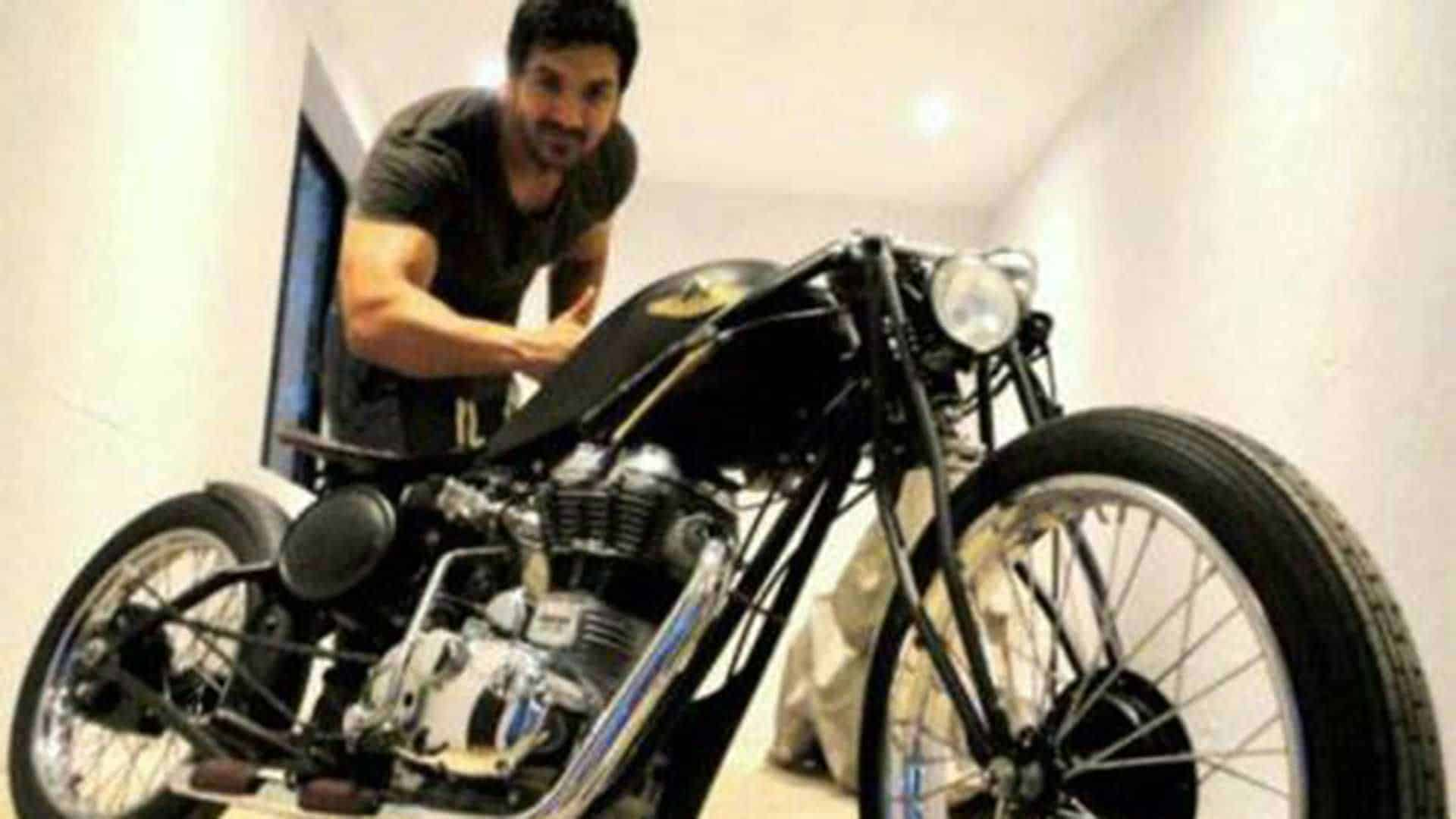 John Abraham Rajputana Custom bike