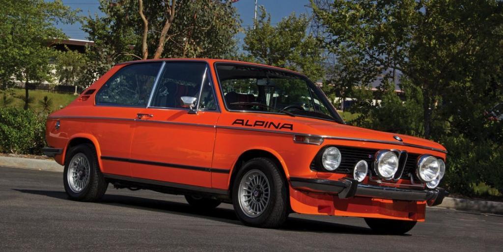 Paul Walkers Car: BMW 2002TII TOURING ALPINA