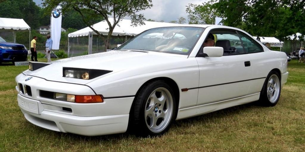 Paul Walker Car Collection : BMW 850CSI car