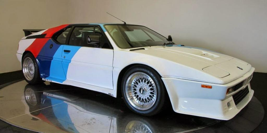 Paul Walker Car Collection : BMW M1 car