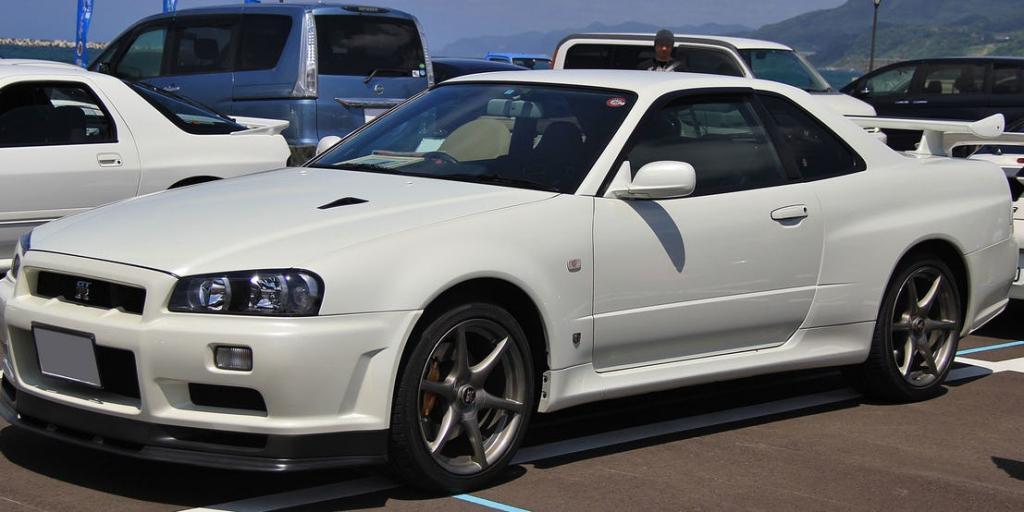 NISSAN SKYLINE R34 GT-R V SPEC