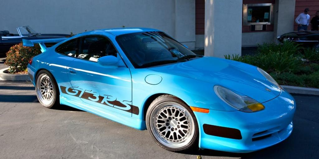 Paul Walker Car Collection : PORSCHE 911 GT3 RS