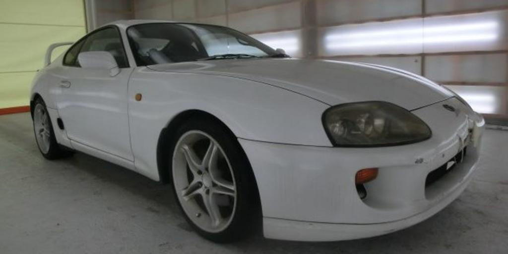 TOYOTA SUPRA SINGLE TURBO CONVERSION