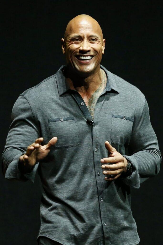 Actor The Rock Dwayne Johnson