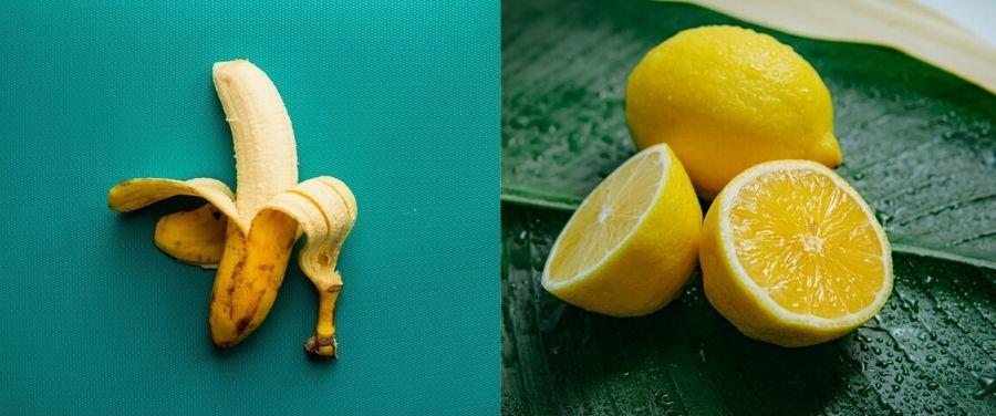 Lemon and Banana