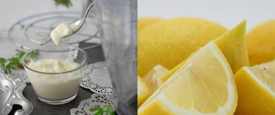 Yogurt and Lemon