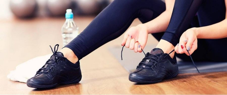 Women Getting Ready For Workout