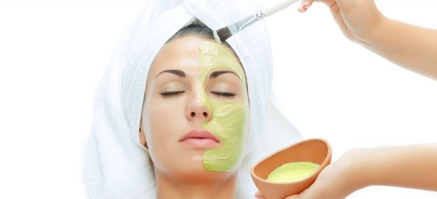 Cucumber and Egg Face Mask