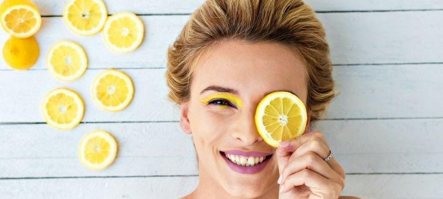 Lemon Face Packs for Fairer Skin Tone