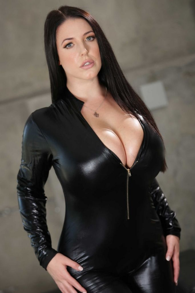 Angela White in Black