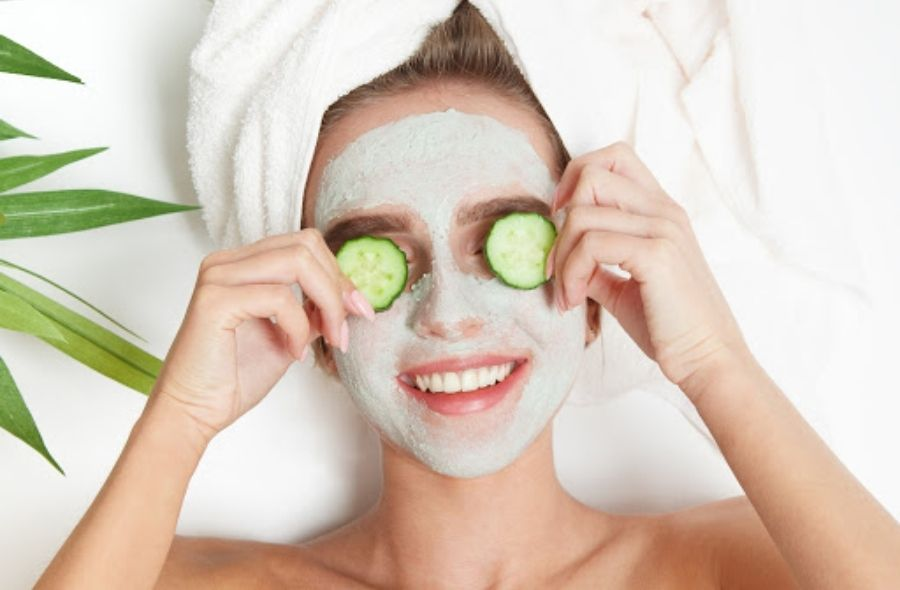 Cucumber Face Pack for Glowing Skin