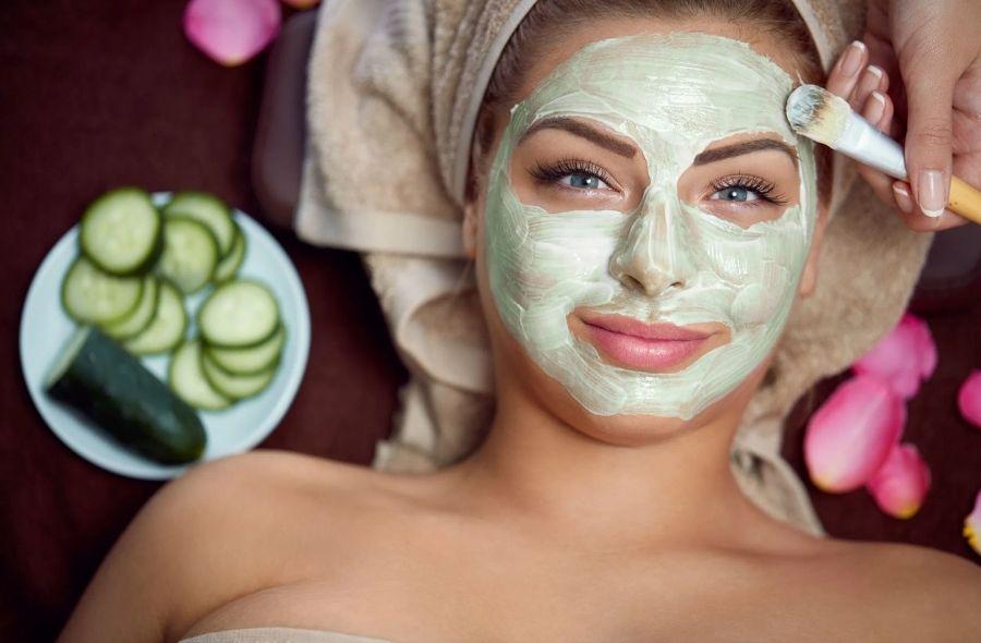 Cucumber Skin Repairing Face Mask