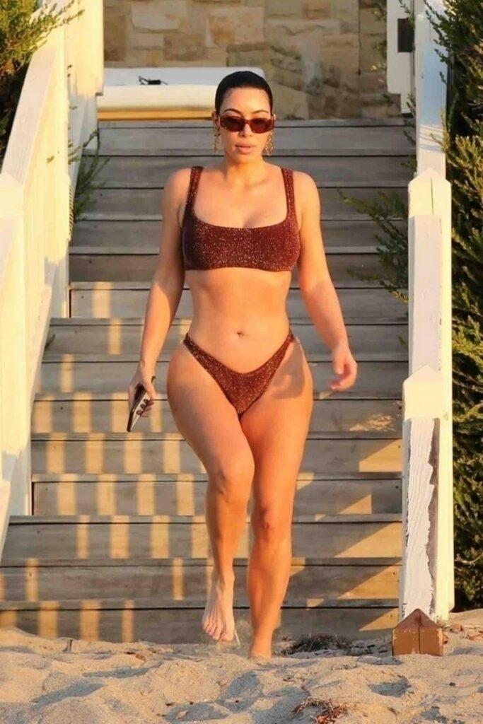 Kim Kardashian Bikini Photoshoot