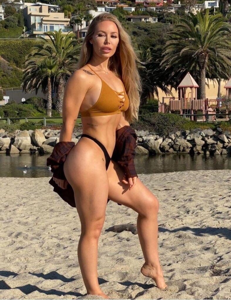 Nicole Aniston Bikini Photoshoot