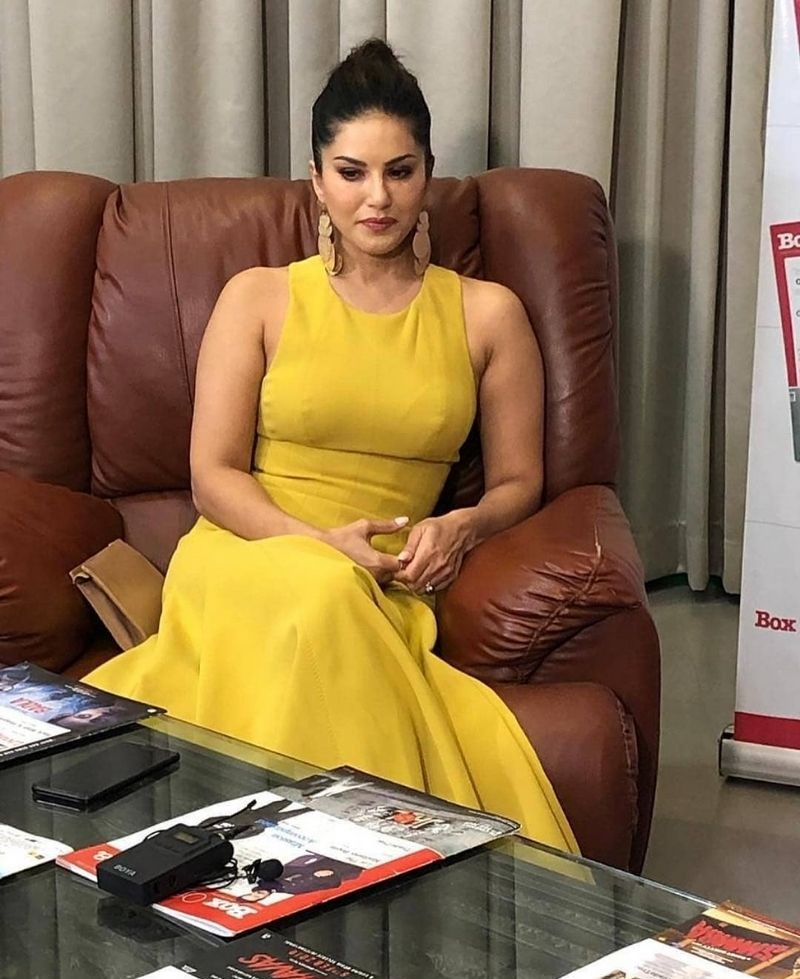 Sunny Leone in Yellow