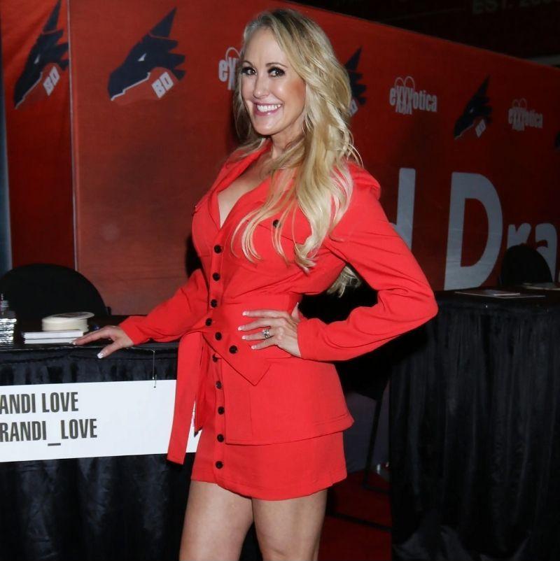 Brandi Love in Red